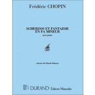CHOPIN F. SCHERZOS ET FANTAISIE OP 49 PIANO