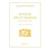 BOCCHERINI L. SONATE UT MAJEUR VIOLONCELLE