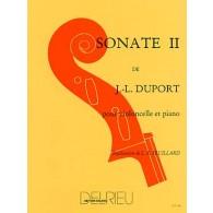 DUPORT J.L. SONATE N°2 VIOLONCELLE