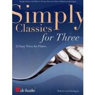 SIMPLY CLASSICS FOR THREE FLUTES
