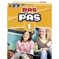 KASTELEIN J. PAS A PAS VOL 1 CLARINETTE