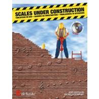 KASTELEIN J./OLDENKAMP M. SCALES UNDER CONSTRUCTION TROMPETTE OU BARYTON