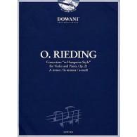 RIEDING O. CONCERTINO OP 21 VIOLON