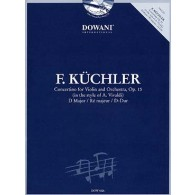 KUCHLER F. CONCERTINO OP 15 VIOLON + CD