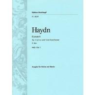 HAYDN J. CONCERTO HOB VIIA:1 EN DO MAJEUR VIOLON