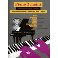 PIANO 2 MAINS 9 THEMES CLASSIQUES CELEBRES