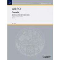 MERCI L. SONATA OP 3/4 BASSON OU VIOLONCELLE