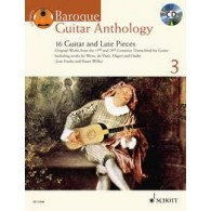 BAROQUE GUITAR ANTHOLOGY VOL 3