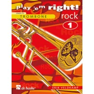 VELDKAMP E. PLAY ' EM RIGHT! ROCK VOL 1 TROMBONE SOLO