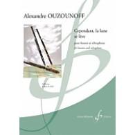 OUZOUNOFF A. CEPENDANT, LA LUNE SE LEVE BASSON ET VIBRAPHONE