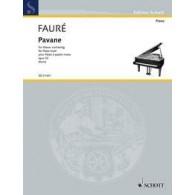 FAURE G. PAVANE OP 50 PIANO 4 MAINS