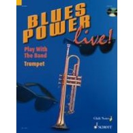 BLUES POWER LIVE PLAY WITH THE BAND TROMPETTE