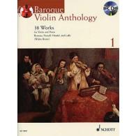 BAROQUE VIOLON ANTHOLOGY VOL 1