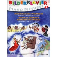 MUSICAL JOURNEY AROUND THE WORLD PIANO VOL 4