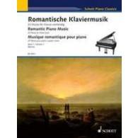 MUSIQUE ROMANTIQUE POUR PIANO VOL 1 PIANO 4 MAINS
