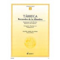 TARREGA F. RECUERDOS DE LA ALHAMBRA FLUTE