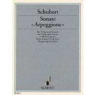 SCHUBERT F. SONATE ARPEGGIONE ALTO GUITARE