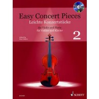EASY CONCERT PIECES VOL 2 VIOLON