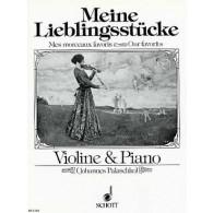 PALASCHKO J. MEINE LEIBLINGSTUCKE VIOLON