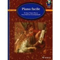 PIANO FACILE DE BACH A GRETCHANINOFF