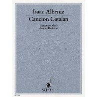 ALBENIZ I. CANCION CATALAN VIOLON