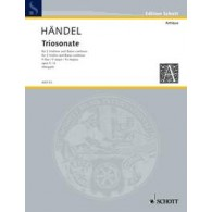HAENDEL G.F. TRIOSONATE OP 5/6 VIOLONS
