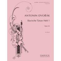 DVORAK A. DANSES SLAVES OP 46 VOL 1 PIANO