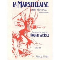 ROUGET DE L'ISLE LA MARSEILLAISE HYMN NATIONAL CHANT