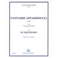 VIEUXTEMPS H. FANTAISIE APPASSIONATA OP 35 VIOLON