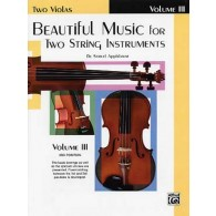 APPLEBAUM BEAUTIFUL MUSIC VOL 3 ALTOS