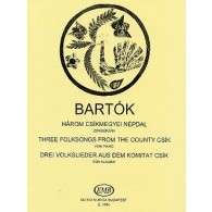 BARTOK B. FOLKSONGS FROM THE COUNTRY CSIK PIANO