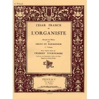 FRANCK C. L'ORGANISTE VOL 1 ORGUE