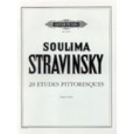 STRAVINSKY I. ETUDES PITTORESQUES PIANO
