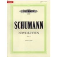 SCHUMANN R. NOVELETTES OP 21 PIANO