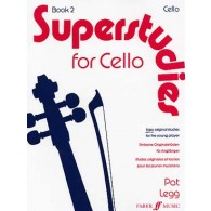 LEGG P. SUPERSTUDIES VOL 2 VIOLONCELLE