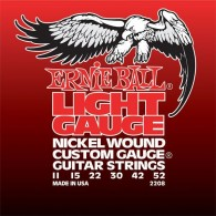 JEU DE CORDES ERNIE BALL 2208 LIGHT GAUGE 11-52