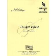 VERES Z./SOLDANO J.C. TENDRE VALSE VIOLON