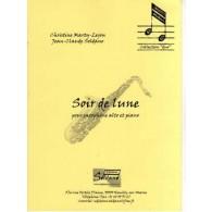 MARTY-LEJON C. /SOLDANO J.C. COIR DE LUNE SAXOPHONE ALTO