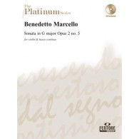 MARCELLO B. SONATA G MAJOR OP 2 N°5 VIOLON