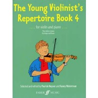 KEYSER (DE) P. THE YOUNG VIOLINIST'S REPERTOIRE BOOK 4
