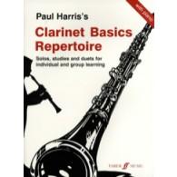 HARRIS P. CLARINET BASICS REPERTOIRE