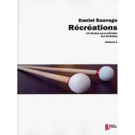 SAUVAGE D. RECREATIONS VOL 1 TIMBALES