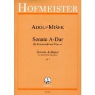 MISEK A. SONATE OP 5 CONTREBASSE