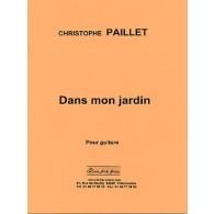 PAILLET C. DANS MON JARDIN  GUITARE