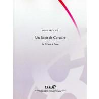 PROUST P. UN RECIT DE CORSAIRE COR