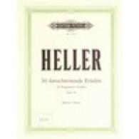 HELLER S. ETUDES PROGRESSIVES OP 46 PIANO