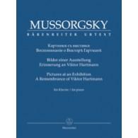 MOUSSORGSKY M. TABLEAUX D'UNE EXPOSITION PIANO