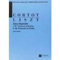 LISZT F. LEGENDES PIANO
