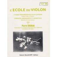 DOUKAN P. ECOLE DU VIOLON ETUDES PROGRESSIVES VOL 14