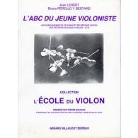 LENERT J. ABC DU JEUNE VIOLONISTE ACCOMPAGNEMENT PIANO